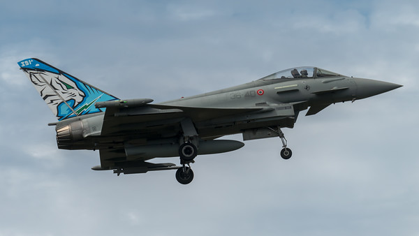 ItAF 36 Stormo / Eurofighter Typhoon F-2000A / MM7322 36-40 / Tigermeet Livery