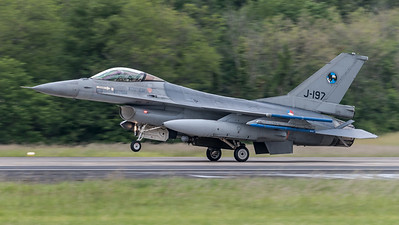 RNLAF 313 SQN / Lockheed F-16AM Fighting Falcon / J-197