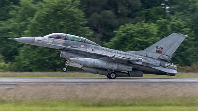 Portuguese Air Force Esq 301 / Lockheed F-16BM Fighting Falcon / 15120