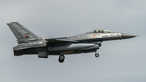 Portuguese Air Force Esq 301 / Lockheed F-16AM Fighting Falcon / 15104