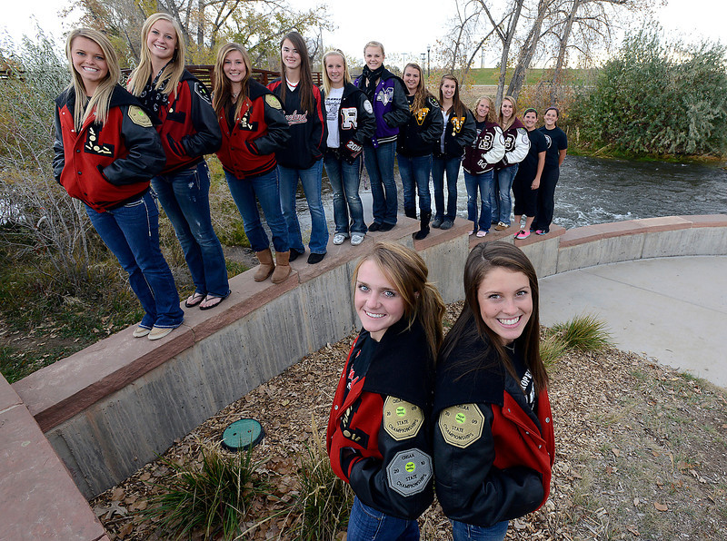 All area softball team on Monday, October 29, 2012.
