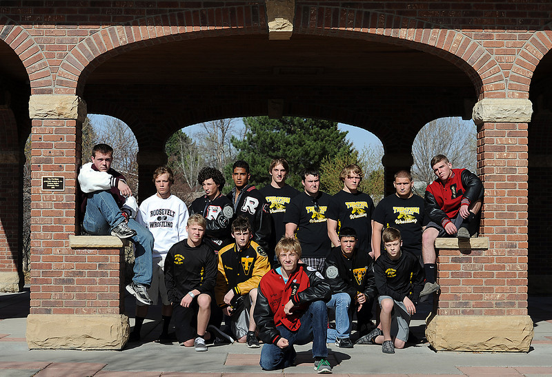All area wrestling team 2012.<br /> Photo by Jenny Sparks