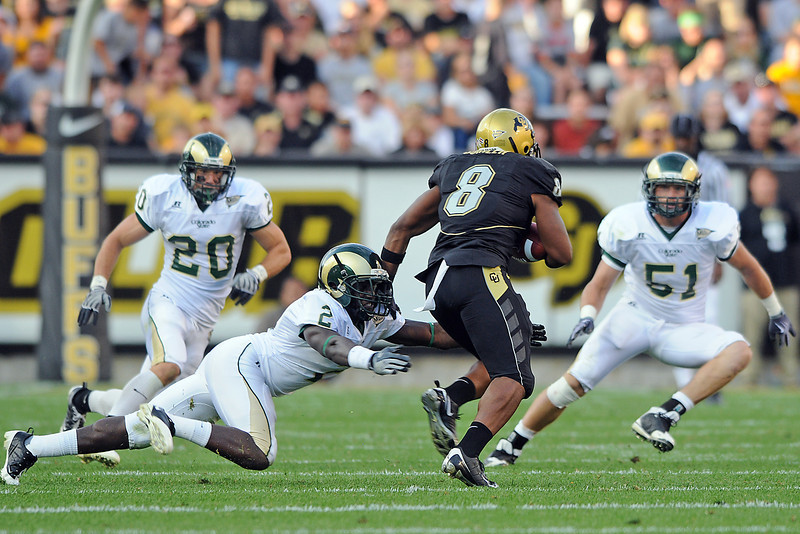 CSU vs. CU Sunday at Folsom Field in Boulder.