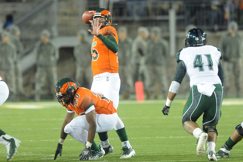 Colorado State against Hawaii on Saturday, Oct. 27, 2012 at Hughes Stadium.