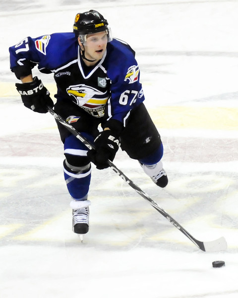 Colorado Eagles player Adam Chorneyko.