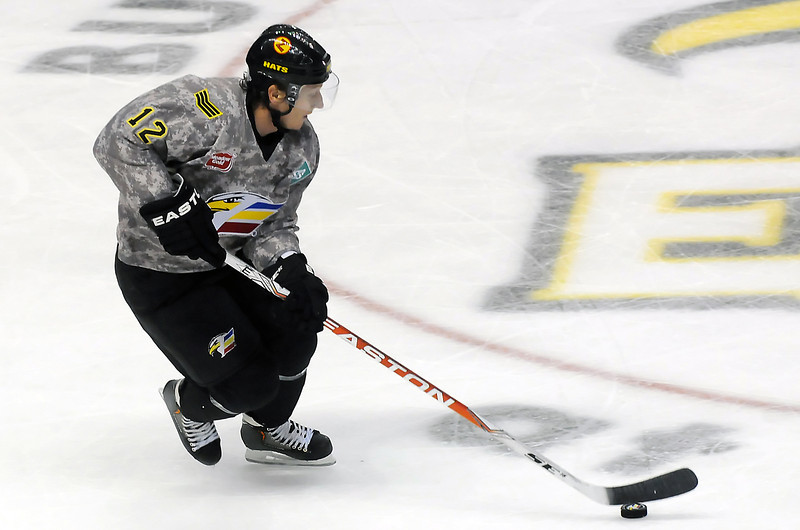 Colorado Eagles against the Rapid City Rush on Wednesday, November 10, 2010 at the Budweiser Events Center.