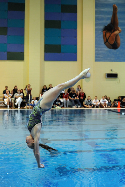 Class 4A State Championships on Saturday, Feb. 11, 2012 at Veterans Memorial Aquatics Center in Thornton.