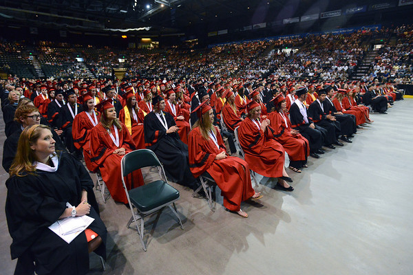 Loveland High School's graduation ceremony on Saturday, May 25, 2013 at the Budweiser Events Center.