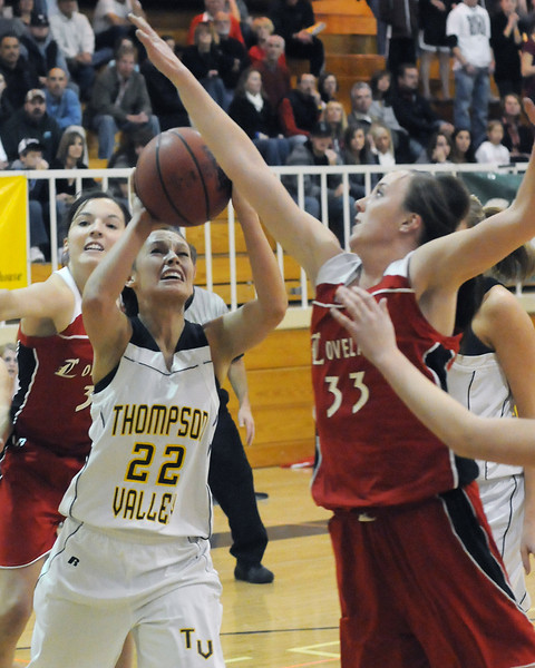 Thompson Valley High School against Loveland on Friday, Dec. 17, 2010 at TVHS.