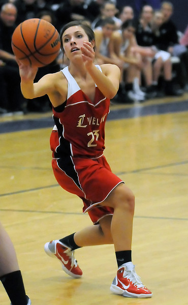 Loveland High School's Michelle Petrie during a game against Mountain View on Tuesday, Dec. 21, 2010 at MVHS.