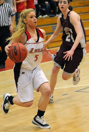 Loveland High School's Amber Beckman during a game against Horizon on Tuesday, Feb. 9, 2010 at LHS.