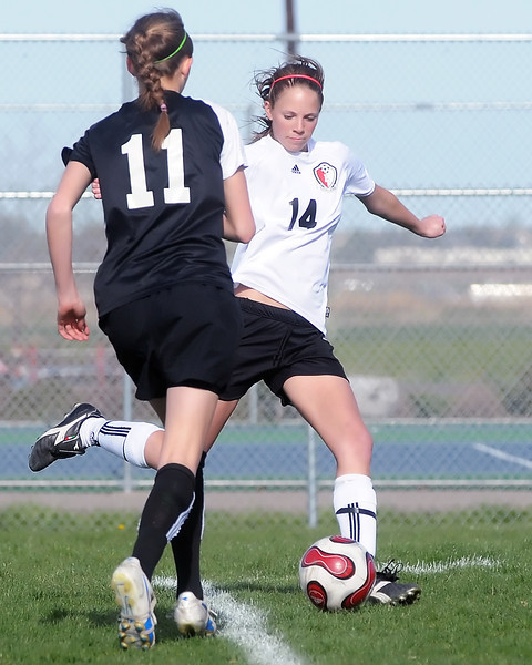 Loveland High School against Monarch on Friday, May 7, 2010 at the Mountain View High School soccer field.