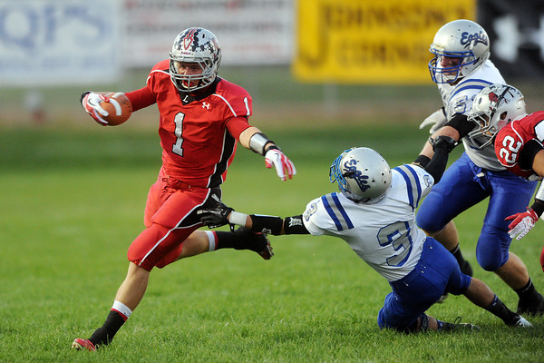 Loveland HIgh School against Broomfield on Thursday, Sept. 13, 2012 at Patterson Stadium.