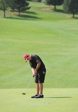 Loveland High's Evan Buchaiski during 5A regional golf at Mariana Butte in Loveland on Friday, September 21, 2012.