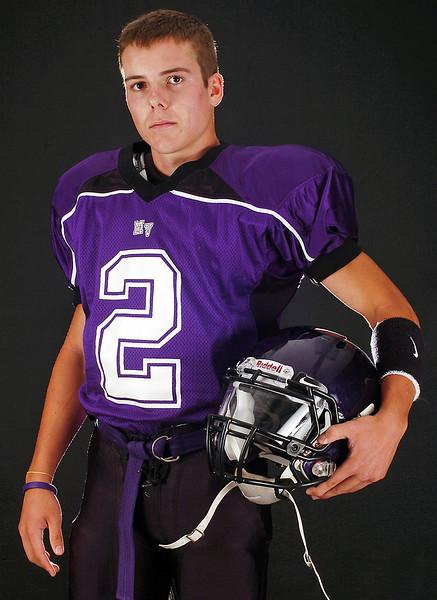 Mountain View High School quarterback Brennan Stine.