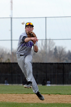 Mountain View High School against Thompson Valley on Thursday, April 25, 2013 at Constantz Field.
