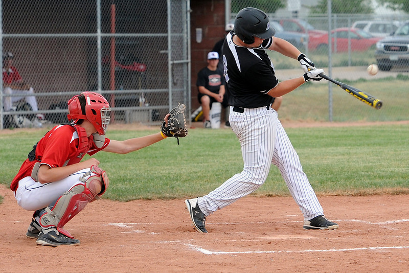 Johnson's Corner [number 9] against Davidson Chevrolet on Friday, June 21, 2013 at Brock Field.