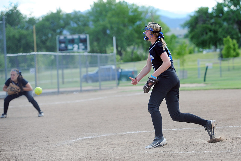 Loveland Rage against the Aurora Twisters during the Rocky Mountain College Showcase on Saturday, June 1, 2013 at the Barnes Softball Complex.