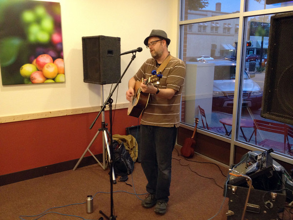 0913NOTT-jb.jpg John Mieras performs at Night on the Town in August at the Coffee Tree, 210 E. Fourth St.