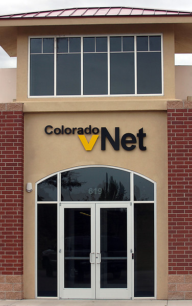The Colorado vNet office is seen in Loveland on Wednesday, Sept. 23, 2009, a day after it closed its doors. But investors could still save the company, according to its CEO.