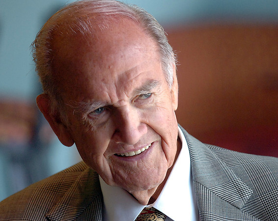 George McGovern, 87, retired senator and 1972 presidential candidate, talks about health care, his new book about President Abraham Lincoln and more Wednesday while speaking with members of the media in Fort Collins.