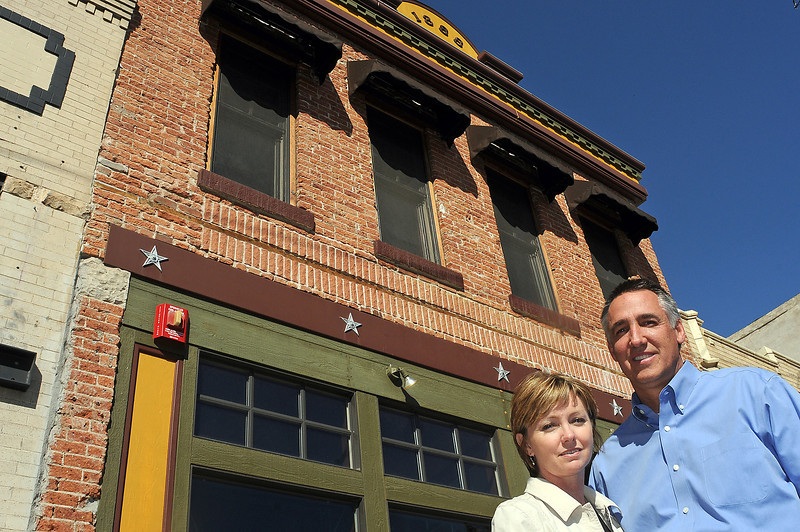 Jeff and Mary Hiatt have purchased the Bonnell Mercantile Building to convert it into a community center and executive apartment. The couple will book the space at no charge to service groups or non-profits but they are open to other ideas that may fit their goal of having events that enhance downtown Loveland and bring more people to the area.