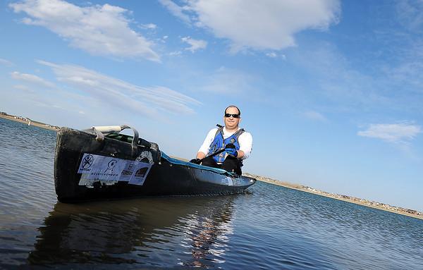 Big Moo Canoeist Rob Bean