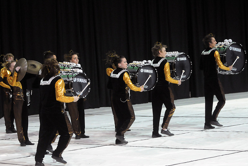 Loveland High School competes in the Rocky Mountain Percussion Association Championships on Saturday, April 3, 2010 at the Budweiser Events Center.