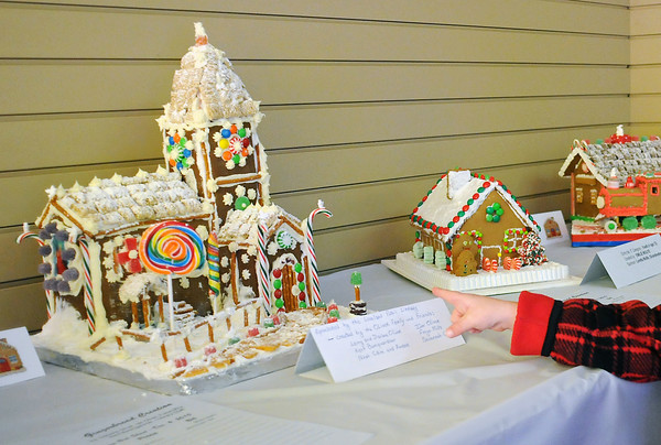 Gingerbread house on display in downtown Loveland on Saturday, Dec. 4, 2010.