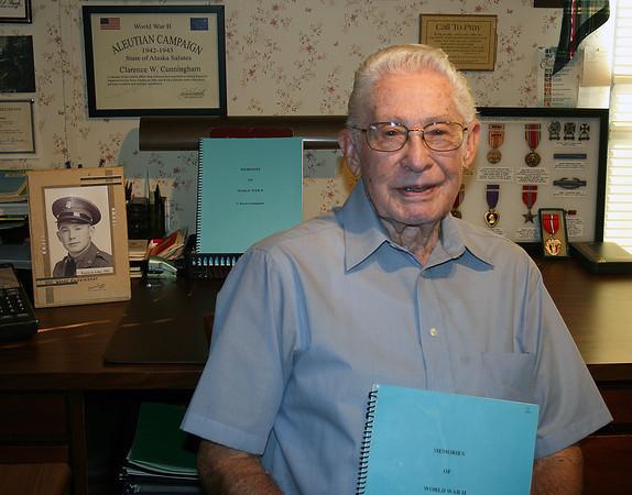 WWII veteran Wayne Cunningham