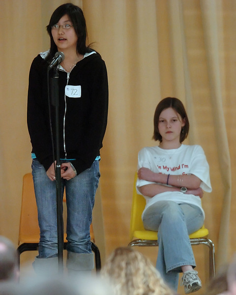 13th Annual Thompson School District Spelling Bee on Jan. 30, 2010 at Walt Clark Middle School.