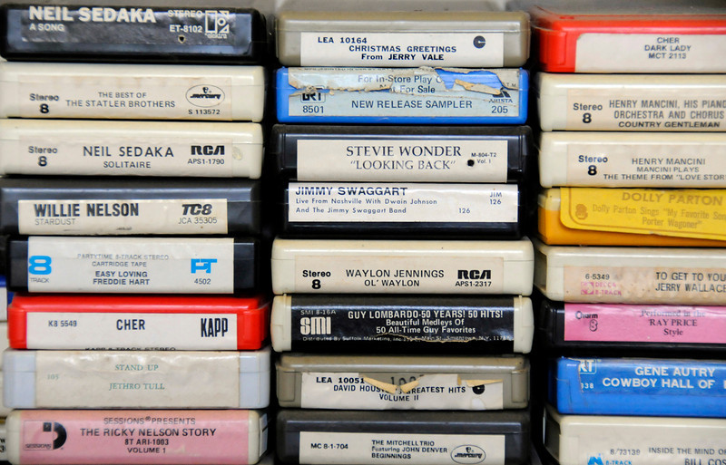 Some of the 8 Tracks belonging to Don Nadow.