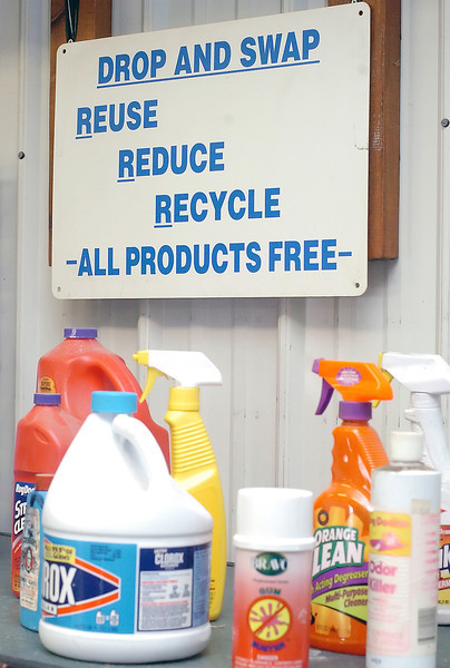 The Household Hazardous Wast Facility at the Larimer County Landfill has a variety of cleaners, paints, stains and other items that available for free for pickup.