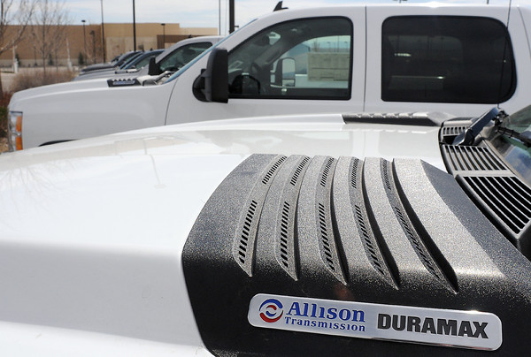 One of the vehicles from Davidson-Gebhardt Auto Group on display Thursday for the 2nd Annual Green Car Convoy will be a Chevrolet 2500 HD with the available Duramax diesel engine.