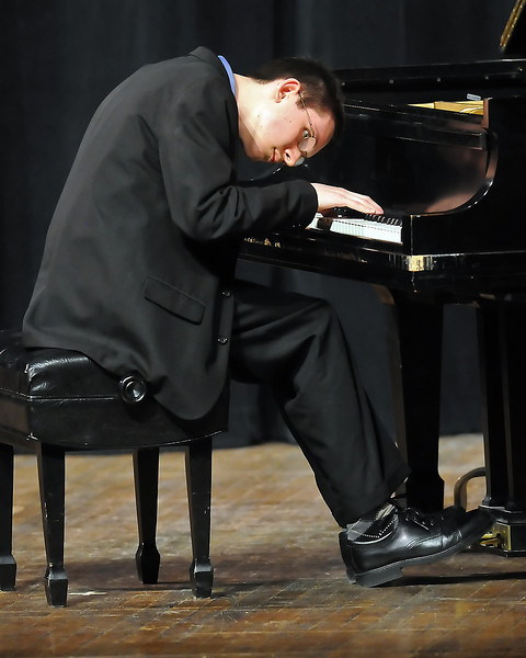 "The 49th Annual Stars of Tomorrow Show on Saturday, March 20, 2010 at Roberta L. Price Auditorium at Thompson Valley High School. John-Micah Braswell, piano solo, ""Humoresque."""