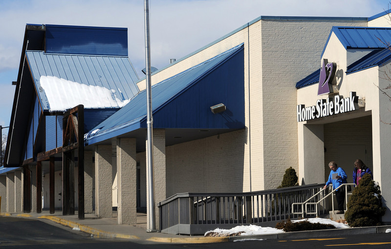 A Home State Bank branch, located at 1355 East Eisenhower Boulevard, is attached to the old Albertson's grocery store, which has been vacant since 2006. Natural grocery stores have considered using the building, but they ran into issues that kept them from leasing it.