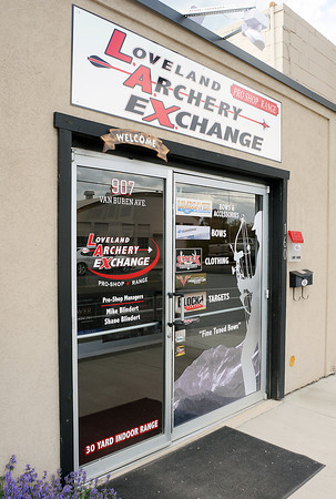 Loveland Archery Exchange is located at 907 Van Buren Ave. and sells a variety of bows and accessories and also features a 30-yard indoor shooting range.