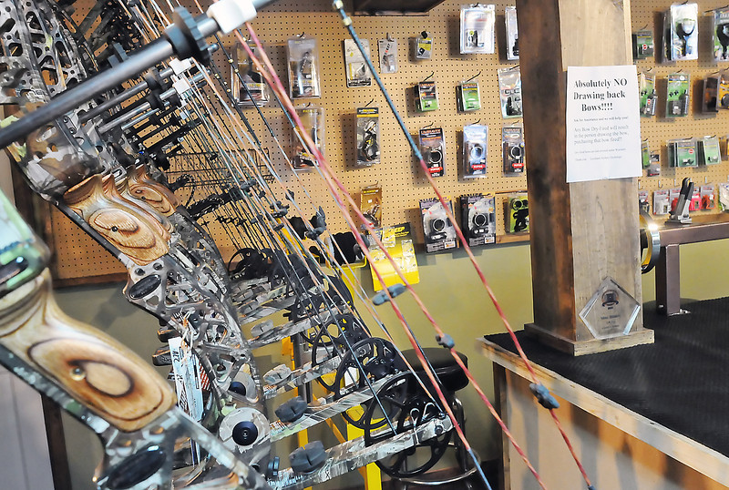 Loveland Archery Exchange is a new archery pro shop with a 30-yard indoor range located at 907 Van Buren Ave. that opened today. The store sells a variety of bows and accessories for both target shooting and hunting.