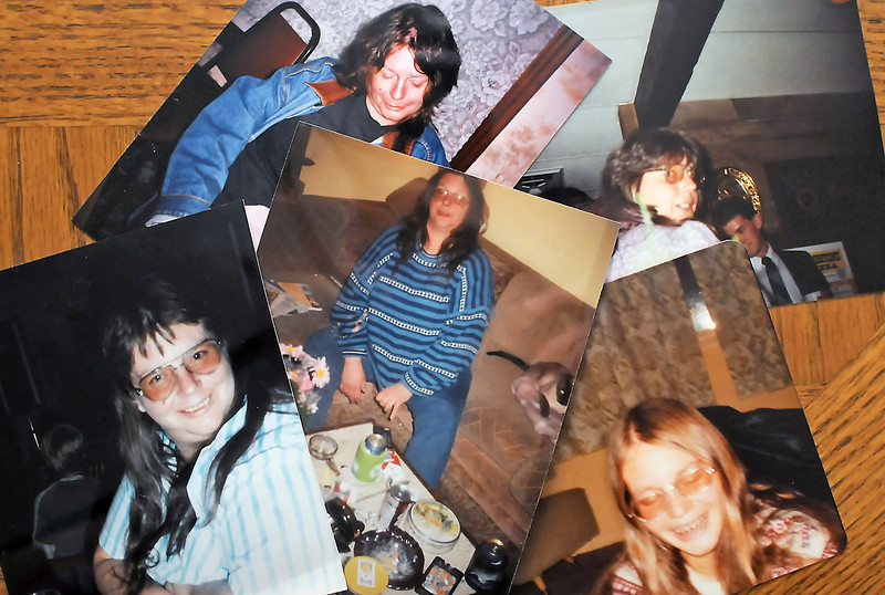 Several photographs of Corby Haworth belonging to her sister, Pat Haworth, show her both as a young girl and also later as an adult.