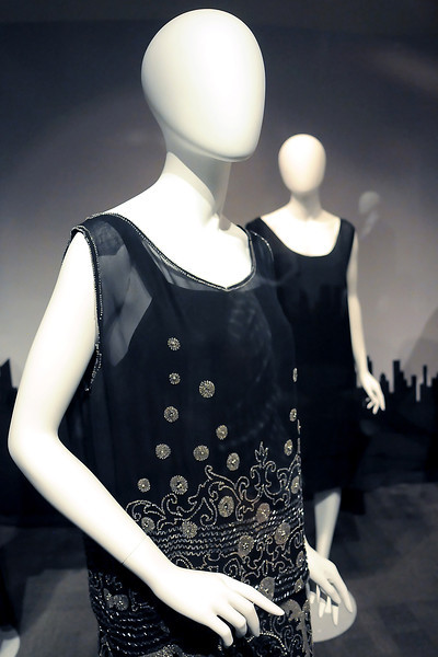 Several dresses on display as part of the exhibit The Little Black Dress at the Avenir Museum of Design and Merchandising, 1400 Remington Ave. in Fort Collins.