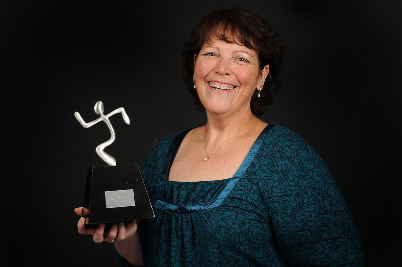 "Susan Bock recently won the ""Anytime Fitness Member Success Story 2009."" Bock, who's weight was joked about on Jay Leno's ""Headlines"" segment, got the last laugh when she won the award for losing 150 pounds."