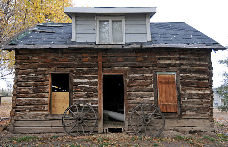 The Charles Meinging House, constructed in 1874, is located Southwest of Berthoud but will soon be relocated to the Little Thompson Valley Pioneer Museum. The house was donated by Gary and Julie Moon after they discovered the age of the house, which they had been living in.