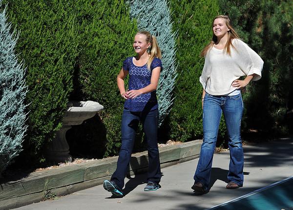 Becca Weissmann, left, and sister Kim Weissmann.