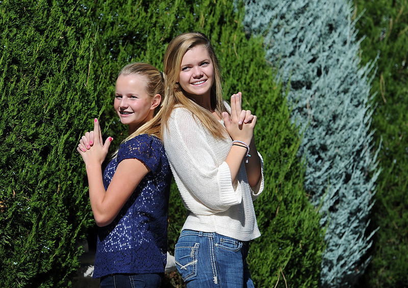 Becca Weissmann, left, and sister Kim Weissmann.