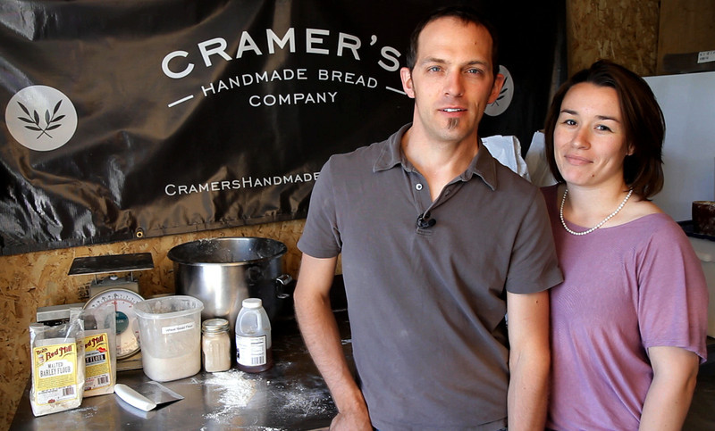 Matt and Tamara Cramer launched Cramer's Handmade Bread Co. in their Loveland home in April. When Loveland's Sunday farmers market closed down for the season, Tamara decided to launch her own winter market so she and other small producers would have a place to sell their goods.