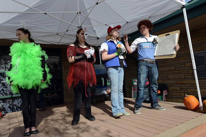 Costume contest during the Halloween Family Fun Festival on Oct. 27, 2012 in downtown Loveland.