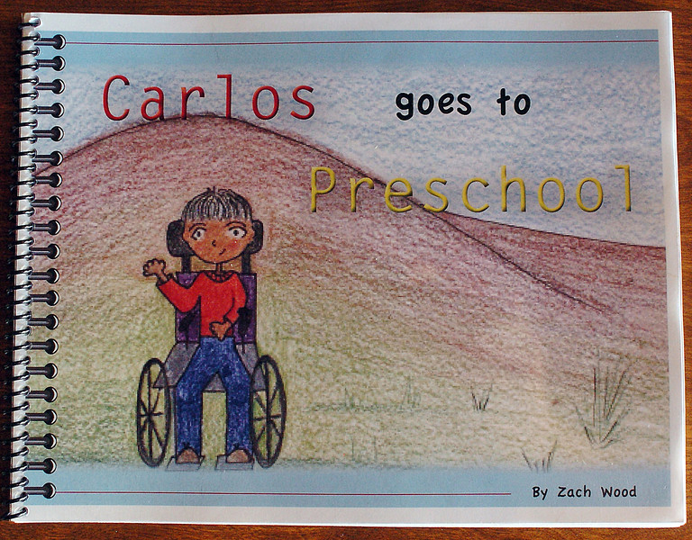 "Loveland author Zach Wood's book,""Carlos Goes To Preschool."""