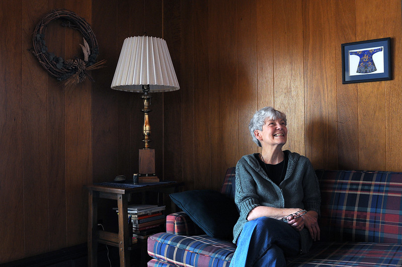 Poet Veronica Patterson tells how she is inspired by things that surround her from articles in her home to places she has visited around Loveland.