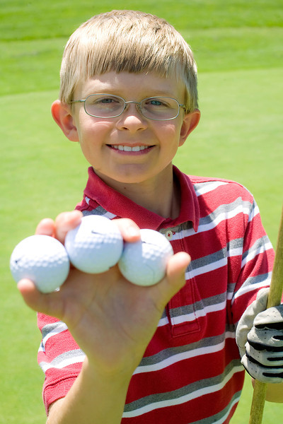 Darren Edwards, 10, has hit three hole-in-one shots at the Cattail Creek Golf Course in a span of eight months and has been golfing for about five years. Edwards' first hole-in-one came on Sept. 13, 2009 and his most recent was shot on May 21.