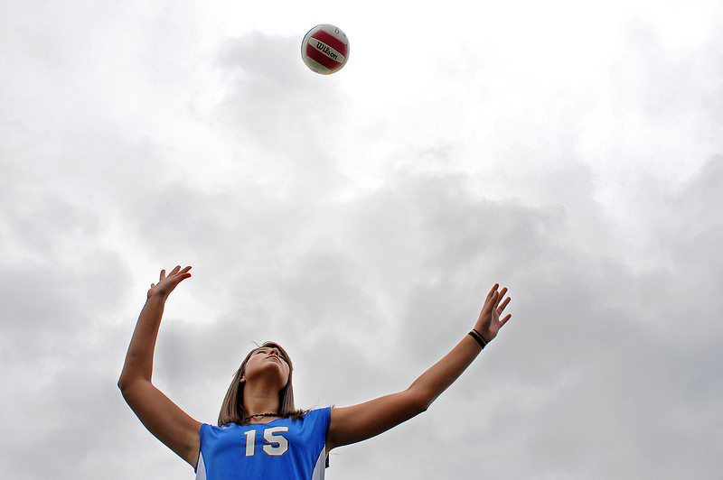 The sky is the limit for Anna Dewald of Resurrection Christian School. Dewald is getting noticed by colleges even before the start of her senior season